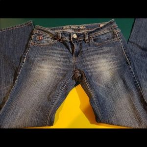 US polo assn jeans size 9 boot cut